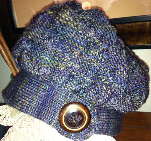 Encircle Wooly Wormhead Mystery Hat KAL