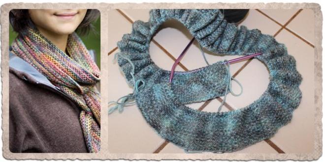 Curl's Linen Stitch Scarf