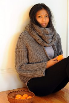 State Street Cowl from Quince & Co.