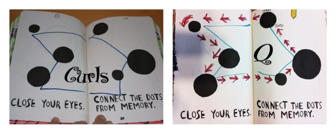 Close Your Eyes: Connect The Dots From Memory