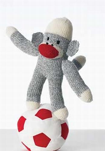 Monkey Around Scok Monkey #159 by Patons (free)