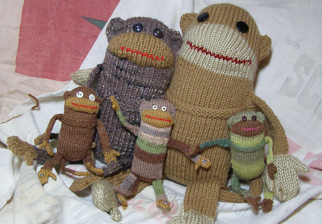 Pocket Monkey Family