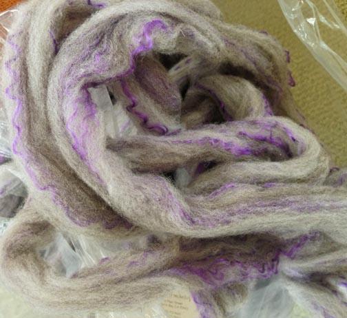 Lavender Cormo-Silk Blend