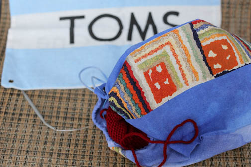 Repurposed Toms Bag