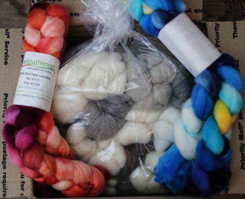 Woolgathering fibers
