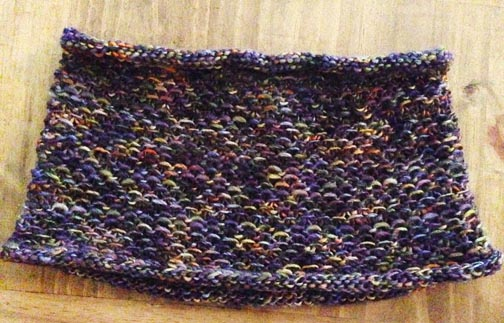 Finished Linen Stitch Cowl