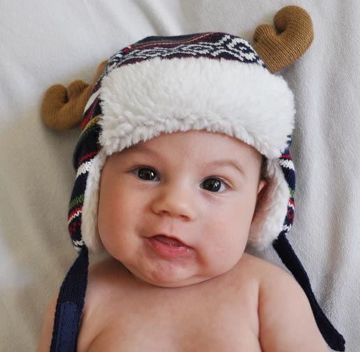 Happy Holidays from our newest grandson - the Drunken Reindeer!