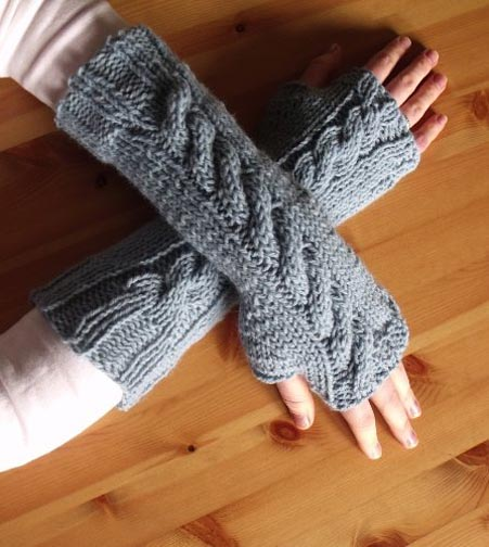 7 Fingerless Gloves - $2.99