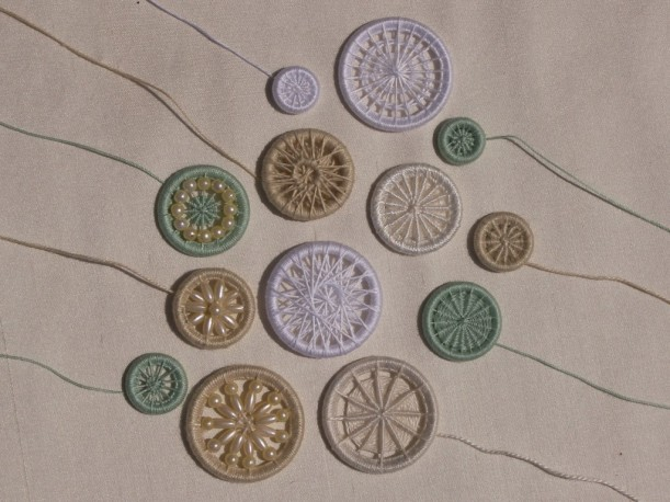 Lots of Lovely Dorset Buttons by Potter Wright and Webb