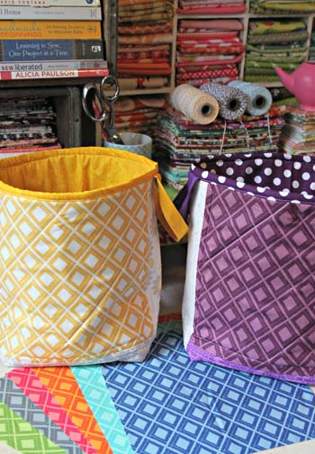 Simple Color Totes by Maureen Cracknell Handmade