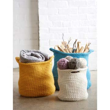 Yarnspirations Cache Baskets