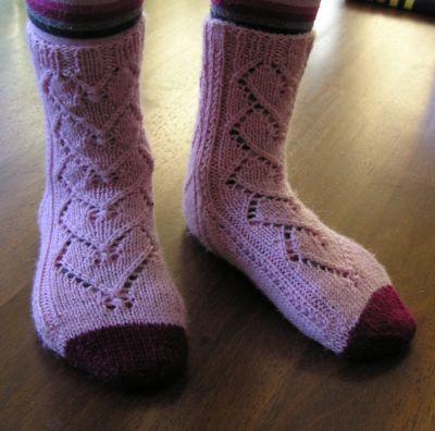 Heddas Socks by Elisabet Erikstad