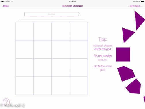 Block template designer