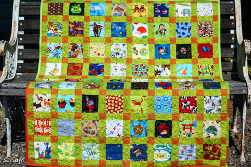 I Spy Little Man Quilt
